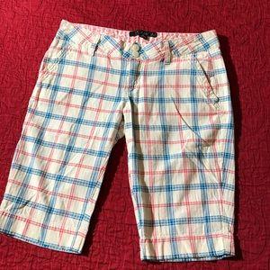 Volcom Plaid Bermuda Shorts